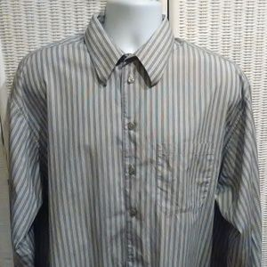 Kenneth Cole Stripped long sleeve shirt